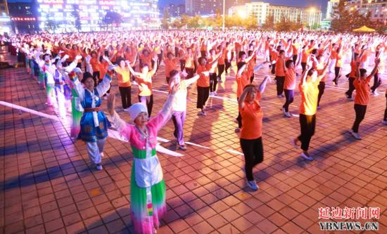珲春市全民健身及群众性文化体育活动蓬勃开展