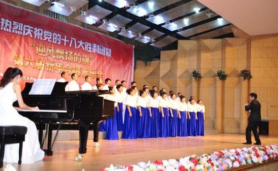 铁力骊马合唱团演出活动