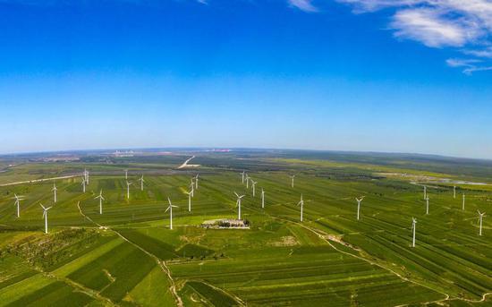 白城市风电产业