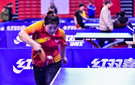 吉林敦化薛丹省运会乒乓球赛夺冠