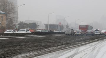 吉林省发布暴雪黄色预警 长春迎强降雪