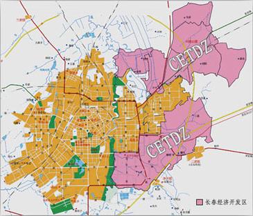 长春市地处于环日本海东北亚经济圈的中心位置,距蒙,俄,朝等国家都图片