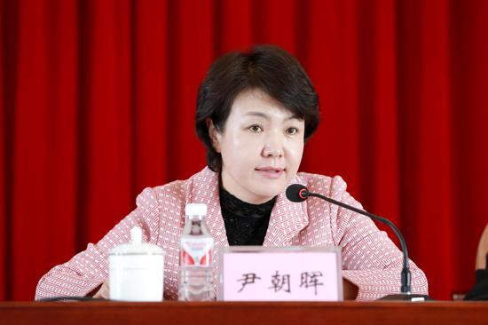 延吉市委常务副书记尹朝晖