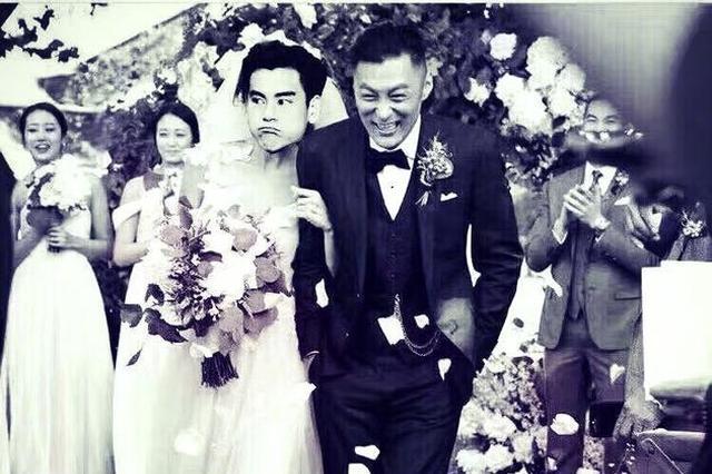 彭于晏祝福余文乐新婚 还把新娘P成了自己