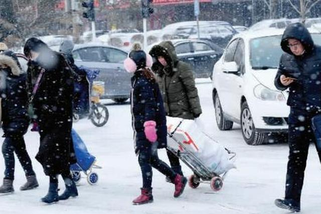 吉林迎降雪局地降温16℃ 长春降雪比常年同期偏少74%