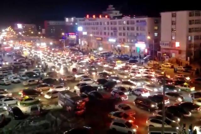 松原前郭县4.3级地震 一度致交通拥堵