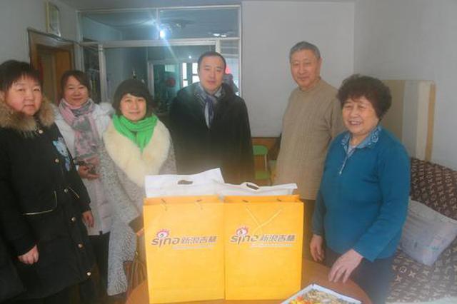 春节送温暖 乐虎国际吉林慰问长春市南关区困难党员和群众