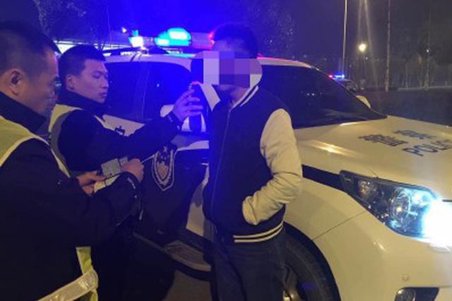 长春市交警部门春节期间查处50名酒驾者
