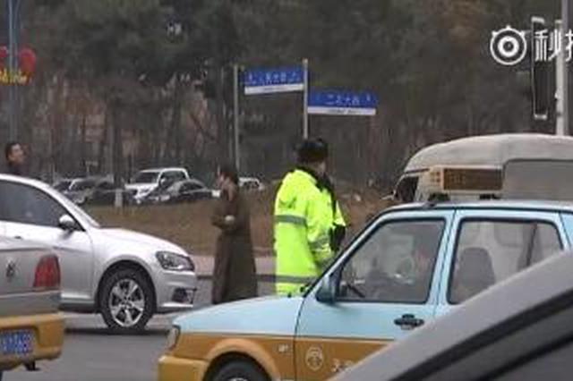 长春交警加强警力布控 交通事故同比下降