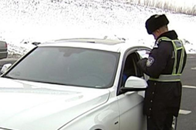 全省交警部门一周内 查处违法行为18万多起