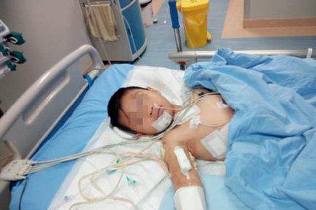 8岁男童患心肌炎 医疗费用成难题