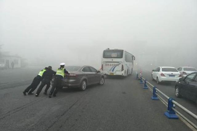 冬春交替大雾频发 延边州高速交警支招应对