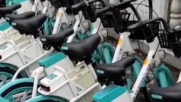 三四线城市共享电单车火了 九江数十品牌争相布局