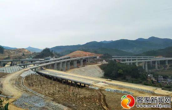 通车在即!兴赣高速兴国枢纽互通预计近期建成