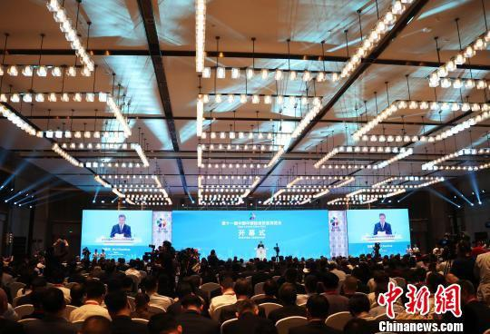 第十一届中国中部投资贸易博览会开幕 逾6000嘉宾参会