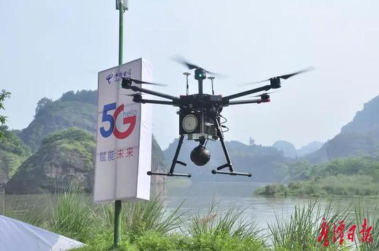 省长易炼红给鹰潭龙虎山打来全省首个异地5G电话