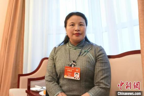 图为全国政协委员、江西省南昌市副市长龙国英。受访者 供图