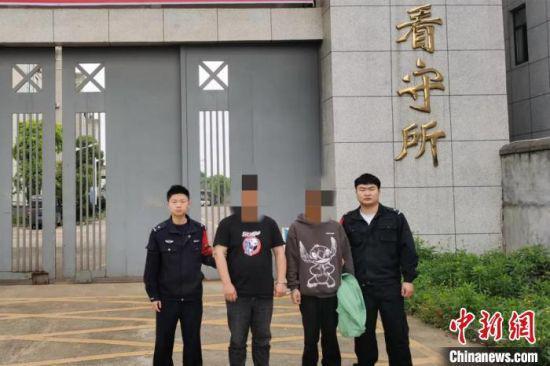 江西丰城警方破获偷越国边境案件4起,刑事拘留10人。江西警方 供图