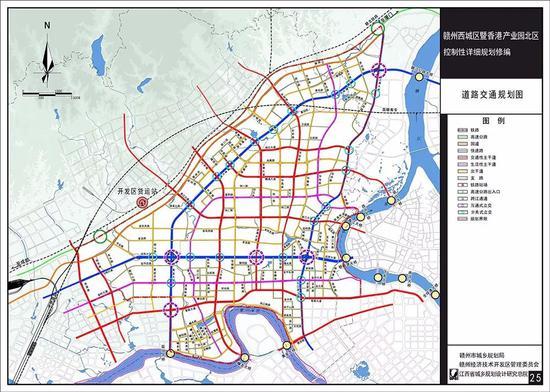 赣州开发区规划图图片