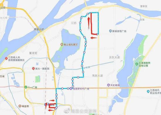 南昌地铁发布运营公告!还有多条公交线路调整