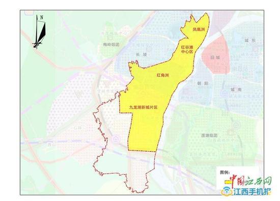 南昌红谷滩区综合交通规划出炉 将规划11个客运枢纽
