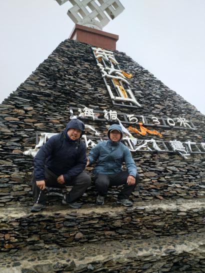 (海拔5310米的东达山)