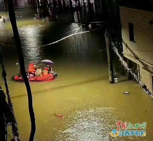 景德镇市气象局发布暴雨红色预警信号