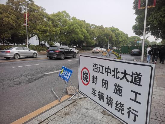 南昌沿江中北大道提升改造 交警发布4条绕行路线