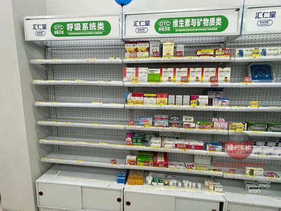 紧急通知!临川区零售药店暂停销售退热、止咳类药品