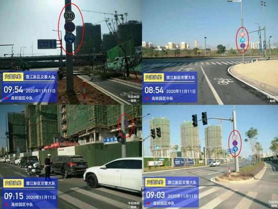 赣州蓉江新区新增这些禁停路段 11月16日起罚