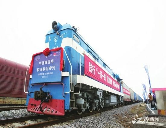 """向塘国际陆港成为""""江西制造""""走向海外的新通道"""