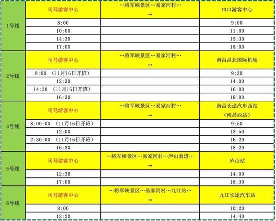 九江至庐山西海有公交啦!发车时间、票价已定