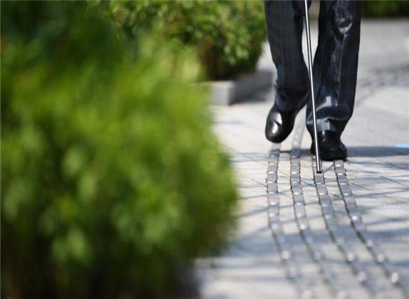 """盲人出行难 城市真正实现""""无障碍?#34987;?#26377;多远?"""
