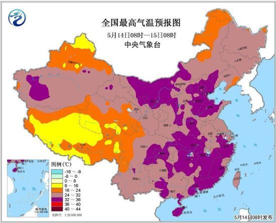 连续3天35℃!南昌发布高温预警 比往年提前1个多月