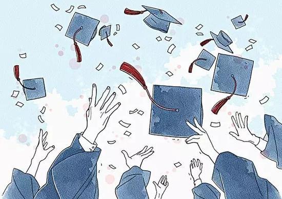 我们毕业啦卡通图片