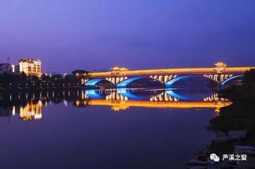 是不是更期待咱大芦溪的袁河廊桥了!