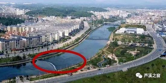 袁河廊桥拟建区域