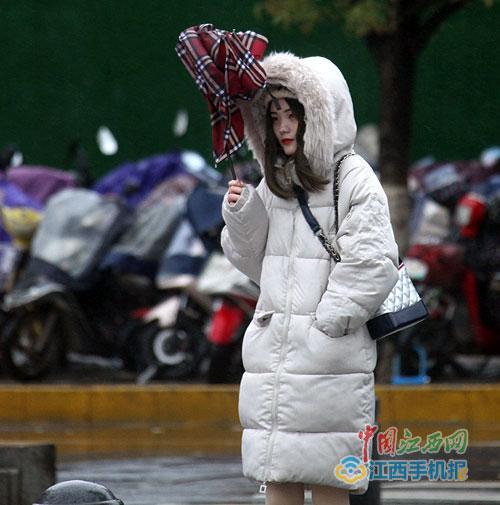江西发布寒潮蓝色预警 九江景德镇今起两天或有降雪