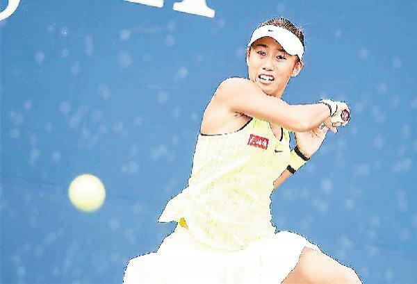 张帅确认出战江西网球公开赛 目前世界排名第31位