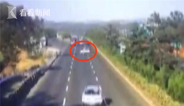 胆大!女司机横穿高速逆行九公里 一路逼停多车