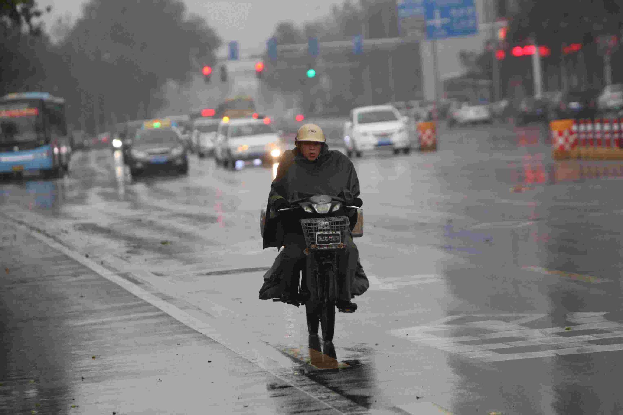 出门记得带雨具 江西未来5天有持续降雨 局部有暴雨