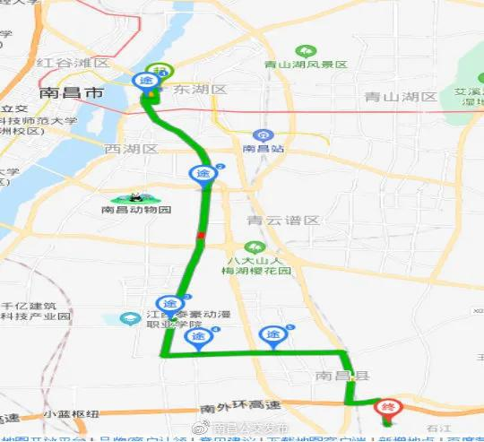 明起南昌新开3条公交线路!快看看经过你家吗?