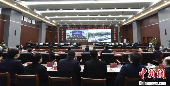 """今年3月,江西启动了全省公安机关""""长风1号""""集中打击收网行动。 江西警方 供图"""