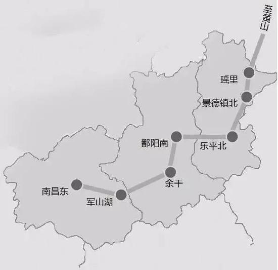 昌景黄高铁有新进展 赣3条铁路预计年底前通车!还有…