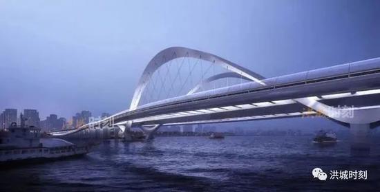 造型图曝光!南昌九龙湖过江大桥即将开建