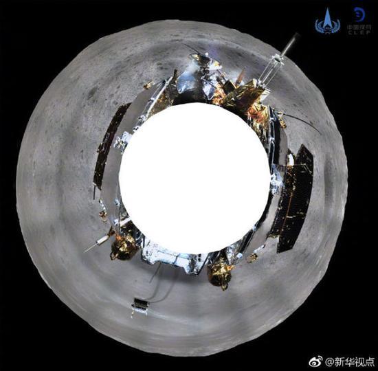 快看!嫦娥四号发回来一组月表全景美照