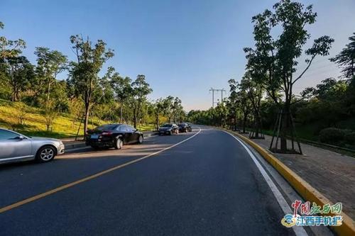 105国道至庐山交通索道下站台道路全线禁止停车