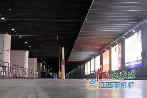 南昌西站西出租车通道改造完成 明日正式通车迎客