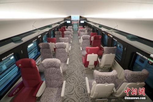 广深港高铁今开通:WiFi覆盖 香港至北京不到9小时