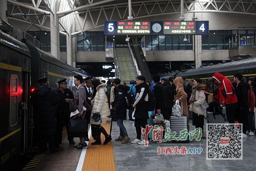 今日南铁加开列车114列 南昌去上海等方向余票充足